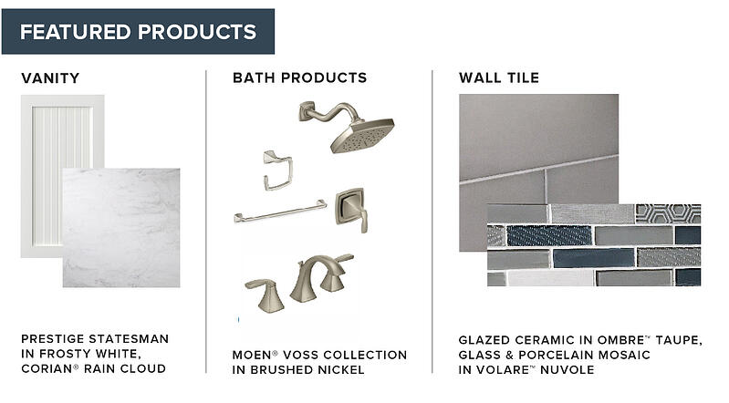 October 2020 Bathroom Remodel Featured Products