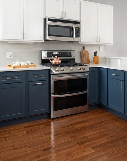 Mix and Match Kitchen Cabinets-1