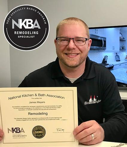 NBKA Certificate_J Mayers_Kitchen Magic