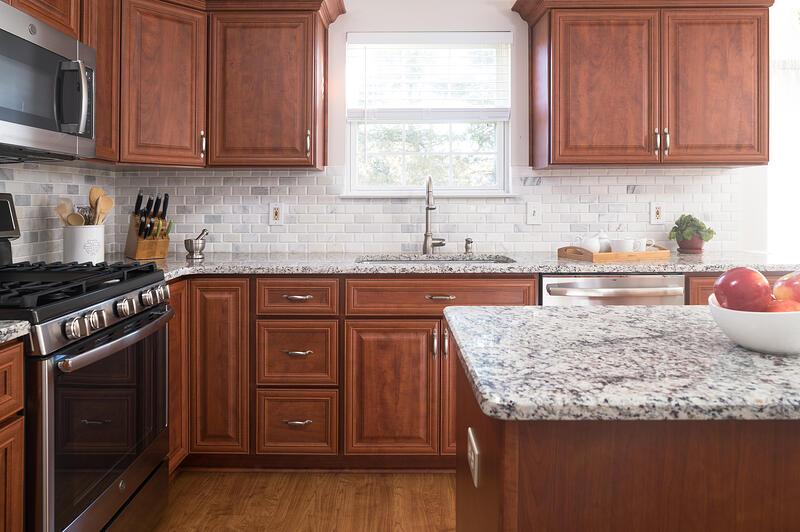 Transitional Cherry Cabinets 2020