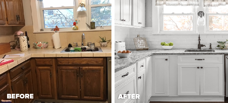 Kitchen Magic Before & After_Dec 2020