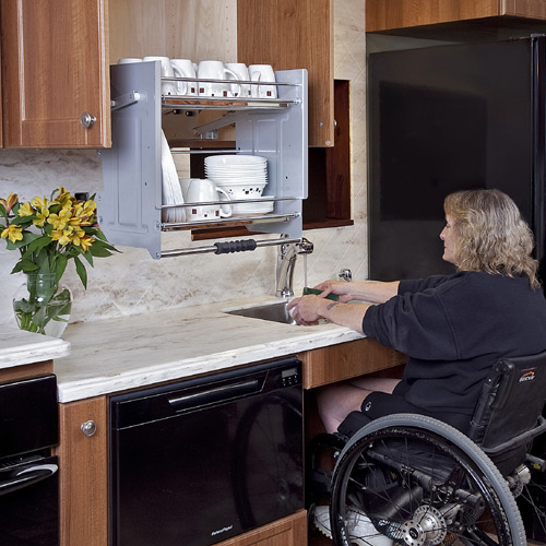 Open Kitchen Sink Cabinet: Accessible Kitchens For Mobility Challenges