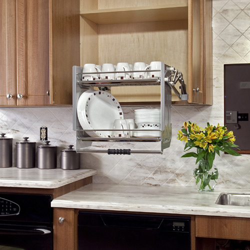 Easy Upper Cabinet AccessAccessible Kitchens for Mobility Challenges. Handicap Kitchen Design. Home Design Ideas