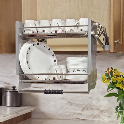 Upper Cabinet Access To Dish Rack