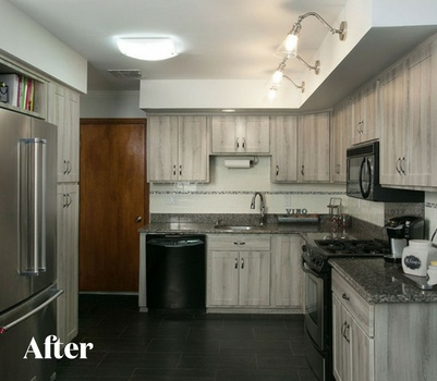Rustic Kitchen Design After Photo