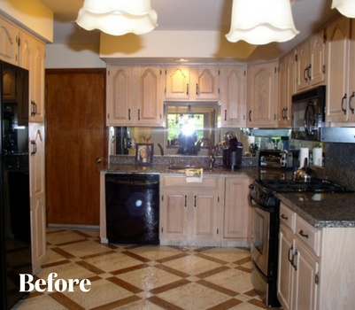 Rustic Kitchen Remodel Before Photo