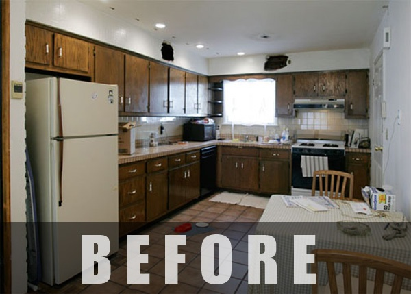 Before and after kitchen transformations - Cabinet architecture tunisie ...