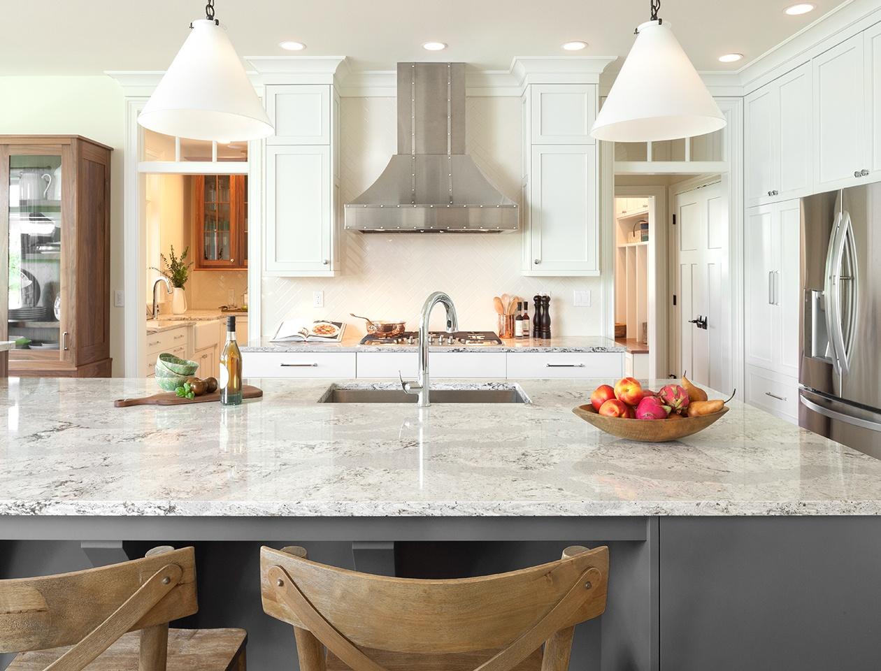 Marvelous Cambria Quartz Countertop Inside Quartz Kitchen Countertops