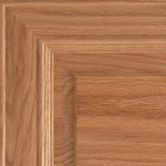 Natural on Red Oak