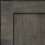 Driftwood with Black Glaze on Maple