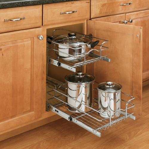 Double Chrome Pull Out Shelf