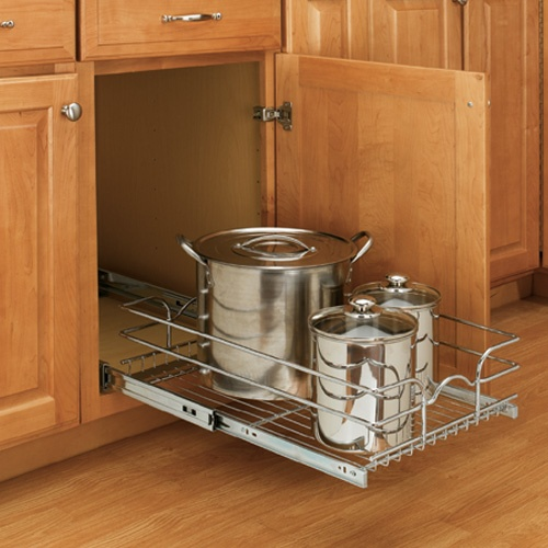 Single Chrome Pull Out Shelf