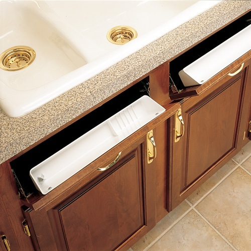 Sink Front Tip Out Trays