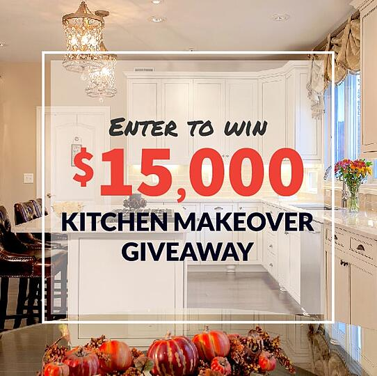 Enter To Win A $15,000 Kitchen Makeover