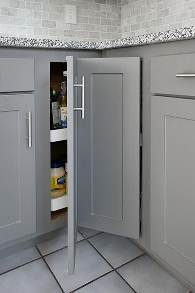 Kitchen Corner Cabinet Storage Lazy Susan