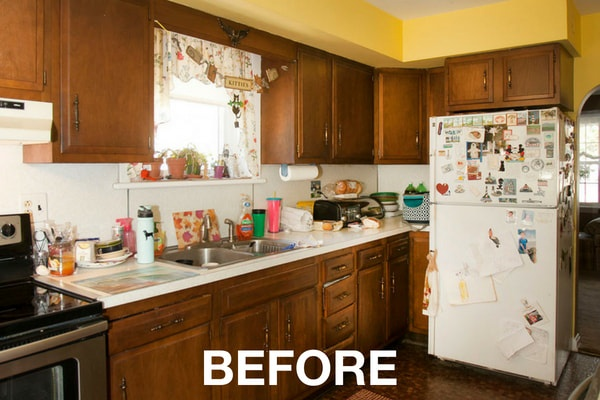 Kitchen Remodel Before Photos