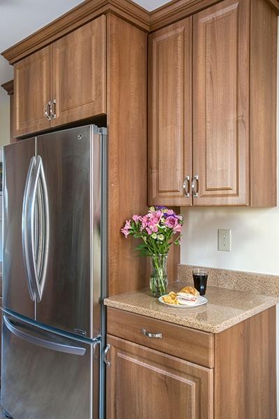 Wood Tone Kitchen Cabinets