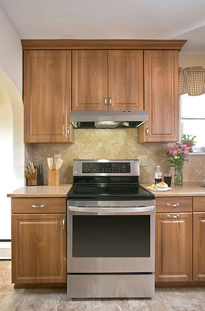 Kitchen Remodeled with Cabinet Refacing
