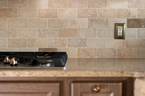 Mimicking the Floor and the Backsplash Will Unify the Design