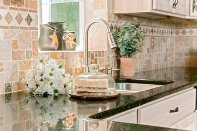 Coastal kitchen remodel design countertops