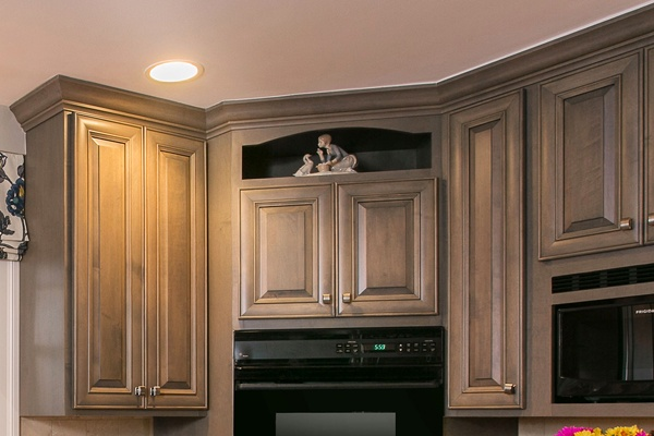 Custom Dislay Nook Above Oven