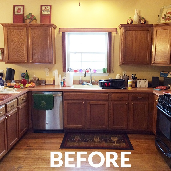 Kitchen Remodel Before Photo