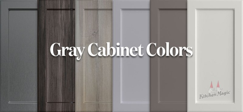 How To Pair Countertops With Gray Cabinets, Is Grey A Good Color For Kitchen Cabinets