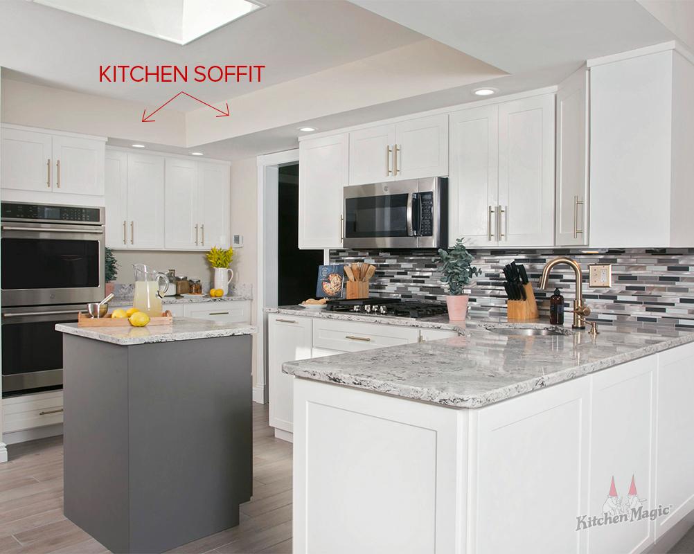 Design Alternatives To Kitchen Cabinet Soffits