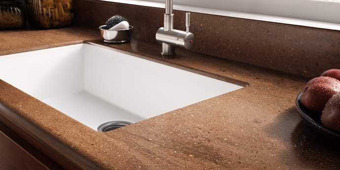 Kitchen sink options you might not know about - Corian bathroom sinks and countertops ...