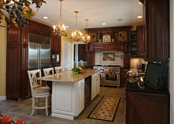 kitchens with different color cabinets does my island to match my cabinets and countertops 8787