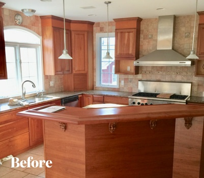 Before and After Kitchen Transformations