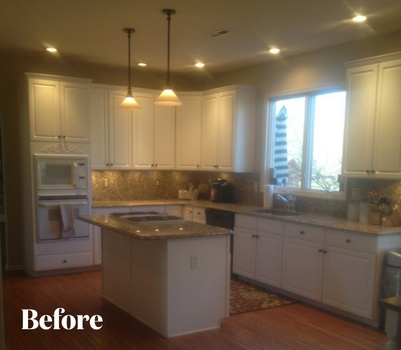 Traditional Kitchen Renovation Before Photo