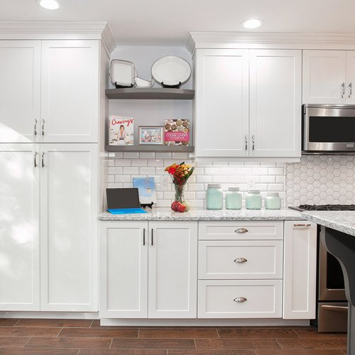 Open Oven In Kitchen: Custom Made Kitchen Cabinets