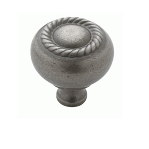Weathered Nickel Rope Knob