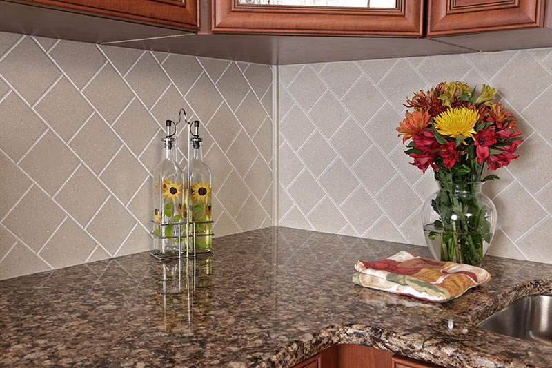 Corian Backsplash