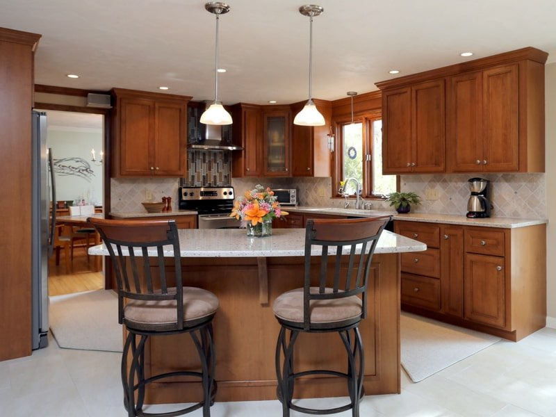 Add An Island, Peninsula, Pantry, Or Additional Cabinets. Refacing Uses  Your Existing Layout, But You Can Add On As Your Space Allows.