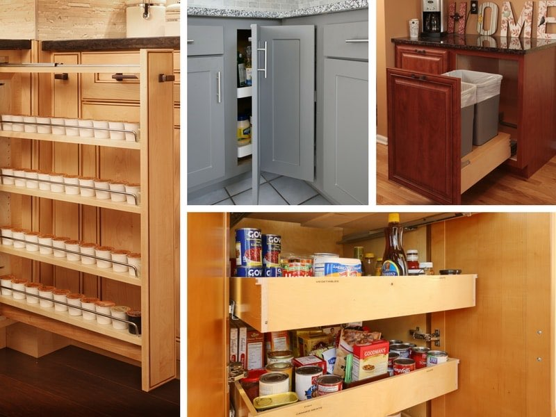 Cabinet Refacing Storage Options