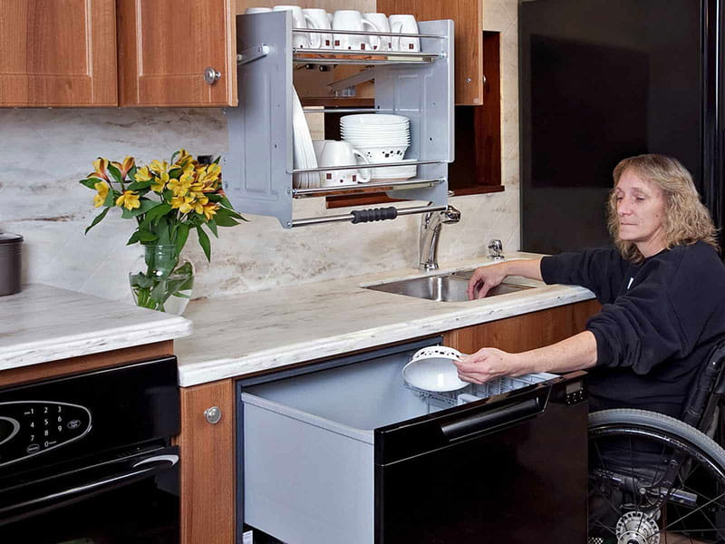 Kitchen Accessibility Solutions with Refacing