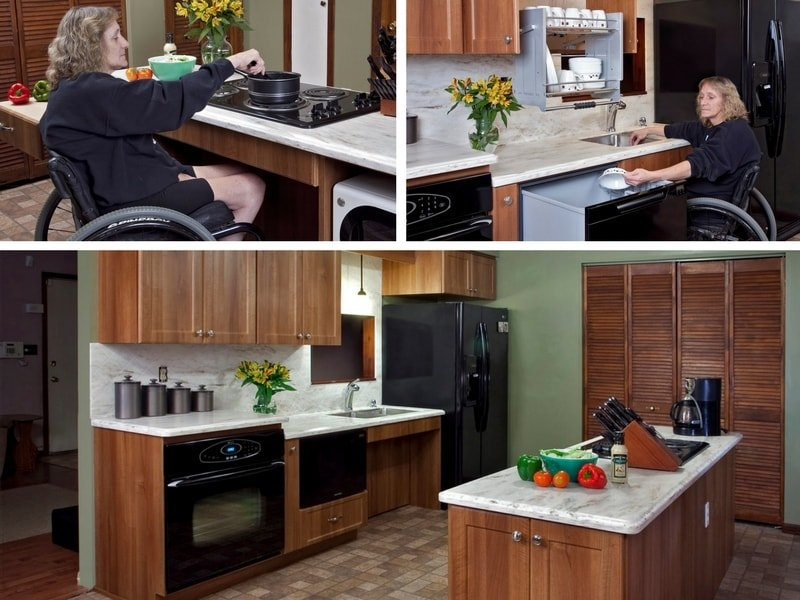 Choose from the very latest in kitchen accessibility and livability solutions. & Kitchen Cabinet Refacing | Cabinet Resurfacing