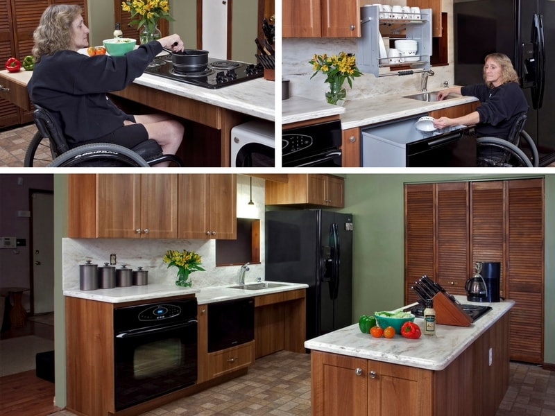Choose From The Very Latest In Kitchen Accessibility And Livability  Solutions.