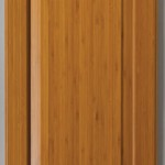 Natural Bamboo Door