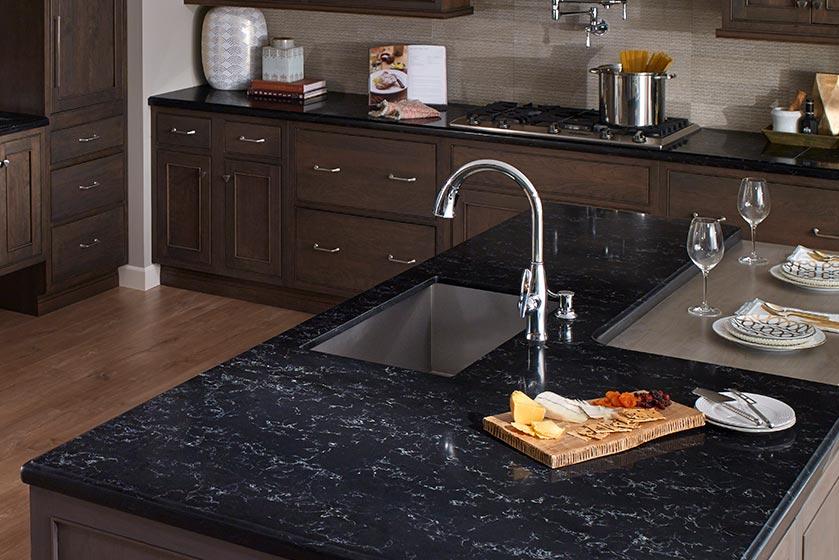 Corian Quartz Kitchen Countertops