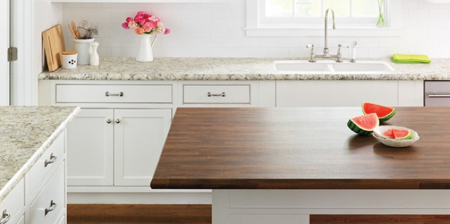 Wood-Look Laminate Countertop