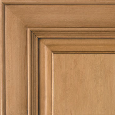 Nutmeg on Maple Brown Glaze Cabinet-door-color