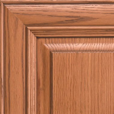 Nutmeg on Oak Caramel Glaze Cabinet-door-color