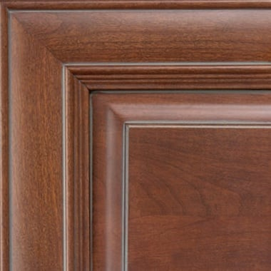 Washington on Cherry Pewter Glaze Cabinet-door-color