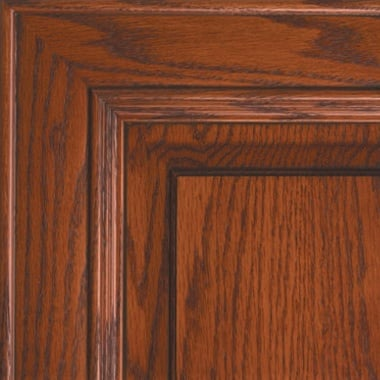 Washington on Oak Brown Glaze Cabinet-door-color