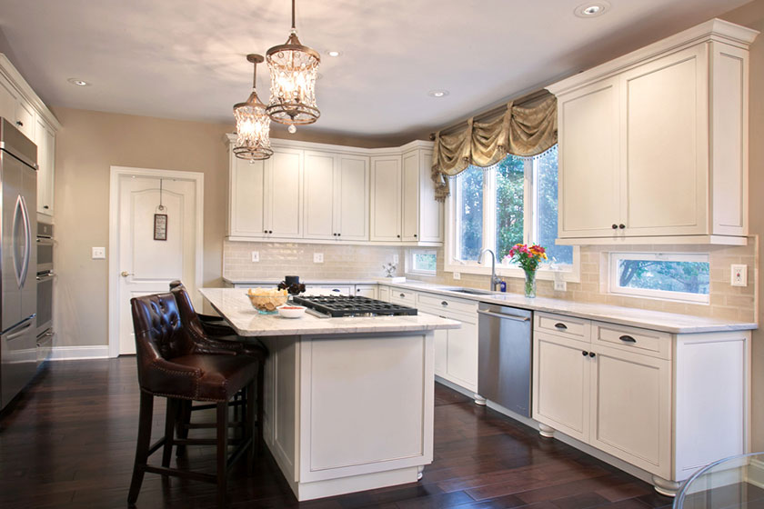 white wood kitchen cabinet doors