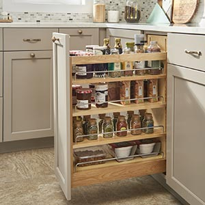 Base Cabinet Organizers Roll-out