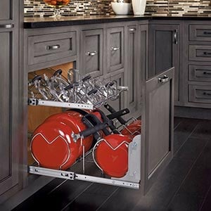 Cookware Organizers Roll-out